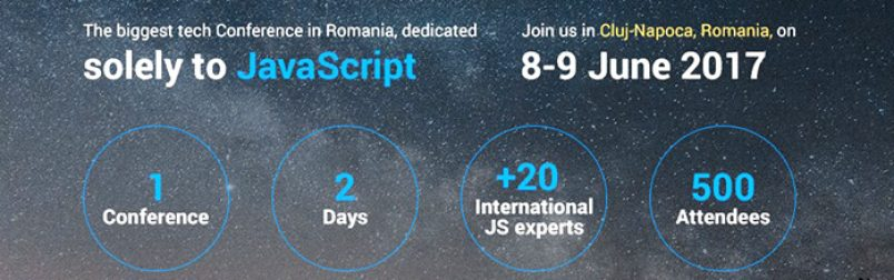 JSHeroes Conference by ClujSers HumanDirect Blog header