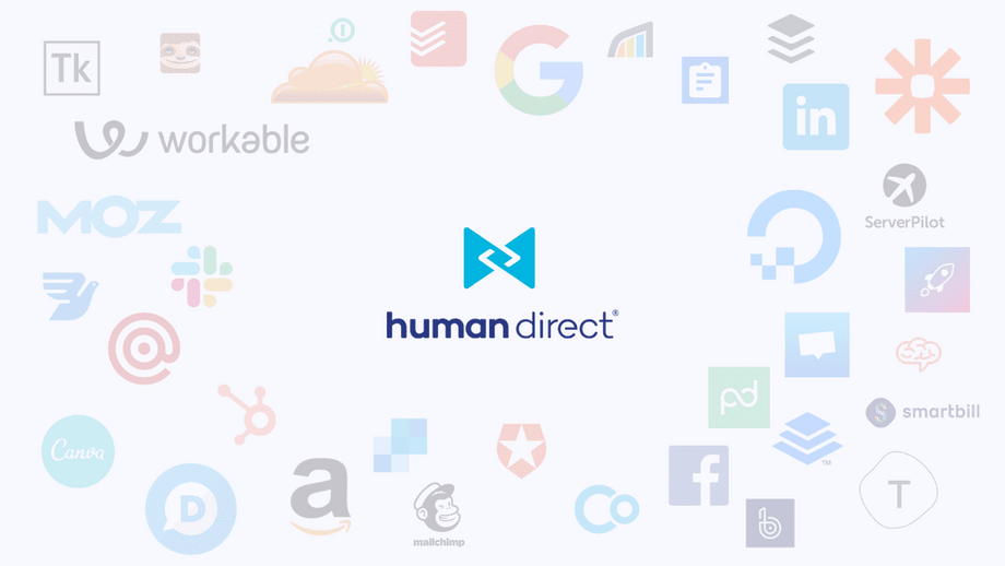 All services and tools used by Human Direct - Softwares That Help Us Recruit